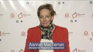 Minister for Regional Development Alannah MacTiernan